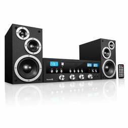 classic cd stereo system with bluetooth inn