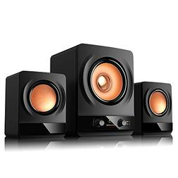 Computer Speakers, BASSBOX 2.1 Multimedia Speaker System, St