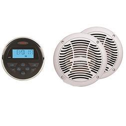 Jensen CPM150 AM/FM/USB Bluetooth Stereo and Speaker
