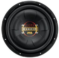 BOSS Audio D10F 800 Watt, 10 Inch, Single 4 Ohm Voice Coil,