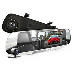 dash cam rearview mirror monitor