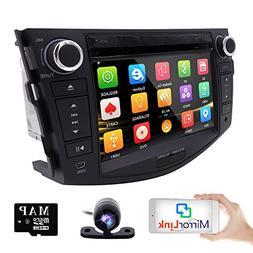hizpo in Dash Car DVD Player GPS Navigation Radio BT Stereo