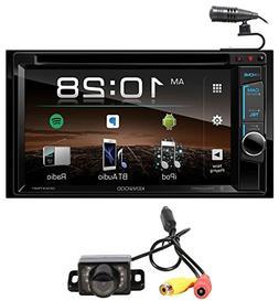 "Kenwood DDX375BT 6.2"" In-Dash Car DVD Bluetooth Receiver iPh"