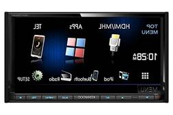 Kenwood DDX7050BT 2-DIN Car Receiver CD/DVD/USB/MP3/WMA/Blue