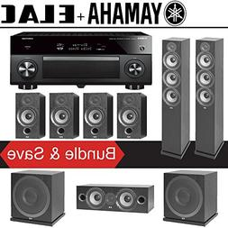 Elac F6.2 Debut 2.0 7.2-Ch Home Theater Speaker System with
