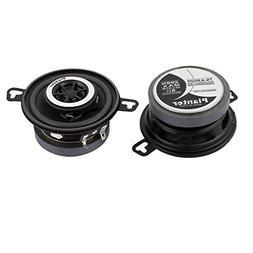 "uxcell 2 Pcs 3.5"" Diameter 2 Way Car Audio System Speaker 20"