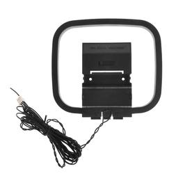 Dlenp 1PCS FM AM Loop Antenna For Receiver With 3-Pin Mini C