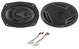 "6x9"" Rockville Door Factory Speaker Replacement For 1994-02"