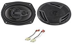 """6x9"""" Rockville Door Factory Speaker Replacement For 1994-02"""