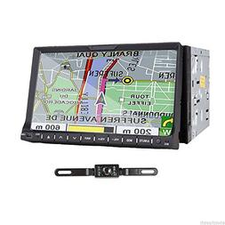"""TOCADO Double 2 Din Car Stereo with Backup Camera 7"""" HD Touc"""