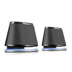 Satechi Dual Sonic Speaker 2.0 Channel Computer Speakers  fo