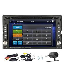 product Dual Zone Double 2 DIN In Dash Head Unit Car Radio C
