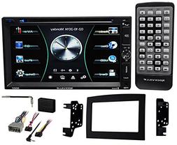 DVD/iPhone/Spotify/Bluetooth Receiver Stereo for 2006-2009 D