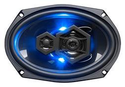 BOSS Audio Elite Series Car Speakers, Model B69LED | 500 Wat