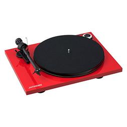 Pro-Ject Essential III Bluetooth Turntable - Gloss Red with