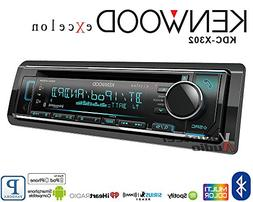 Kenwood eXcelon KDC-X302 CD Receiver w/Bluetooth Front USB S
