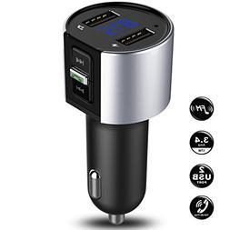 Bluetooth FM Transmitter Radio for Car, In Car Bluetooth Ada