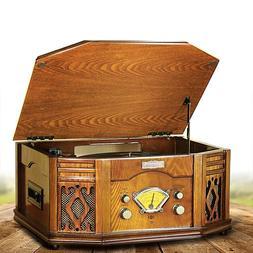 <font><b>Vintage</b></font> Vinyl Turntable Record Player <f