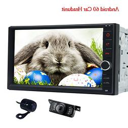 Front Camera & Rear View Camera Included! Double 2 din Andro