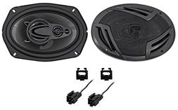 Rockville Front Factory Speaker Replacement Kit For 2003-05