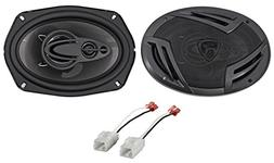 "6x9"" Rockville Front Factory Speaker Replacement For 2006-09"
