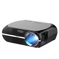 GP100 Video Projector,MTFY 3500 Lumens Portable LCD 1080P HD