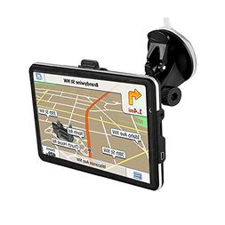 "GPS Navigator,7"" Car GPS with Free Lifetime Maps,800x480 Tou"