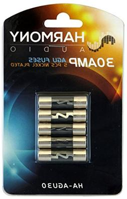 Harmony Audio HA-AGU30 Car Stereo Fuseholder 5 Pack 30 Amp A