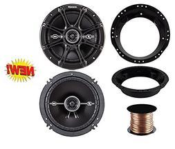 """98-13 Harley Speaker Bundle: 2X of Kicker 6.5"""" inch 480 Watt"""