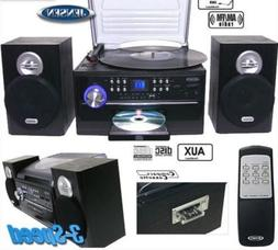 Best All In One Stereo System With Turntable Jensen Home Cas