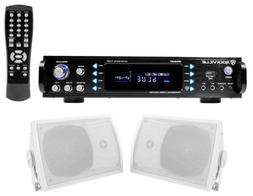 "Rockville Home Theater Bluetooth Receiver +  5.25"" Speakers"