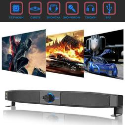 Home Theater Soundbar Wired Sound Bar Speaker System Subwoof