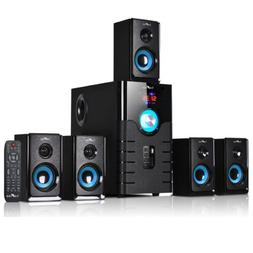 BeFREE 5.1 CHANNEL HOME THEATER SURROUND SOUND SPEAKER SYSTE