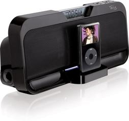 iLive IS208B Stereo Speaker System with iPod Dock
