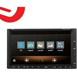 Ezonetronics 7-inch Indash Double DIN Touch Screen Car Playe