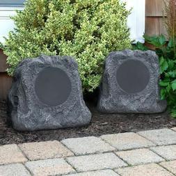 INN-ITSBO-513P5 Bluetooth Outdoor Rock Speakers, Pair by Inn