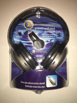 INNOVATIVE TECHNOLOGY ACTIVE NOISE CANCELING HEADPHONES REMO