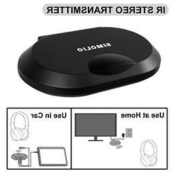 Simolio IR Audio Transmitter, Wireless Infrared Sensor for V