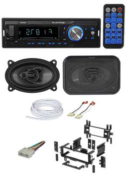 Digital Media Receiver+Front 4x6 Speakers+Wire Kits for 87-9