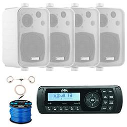 Jensen Marine Audio MA200 AM/FM/USB/Bluetooth Waterproof Ste