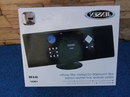 Jensen JMC-180 Shelf / Wall-Mountable CD System with AM/FM S