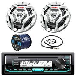 JVC KDX33MBS Marine Boat Yacht Radio Stereo CD Player Receiv