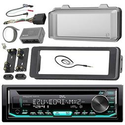 JVC Stereo CD Receiver Marine Radio Bundle, 1998 2013 Harley