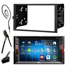 "JVC  6.2"" Touch Screen Bluetooth CD DVD Car Stereo Receiver"