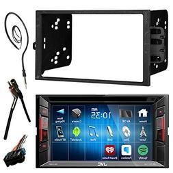 "JVC  6.2"" Touch Screen Bluetooth CD DVD Car Stereo Receiver"