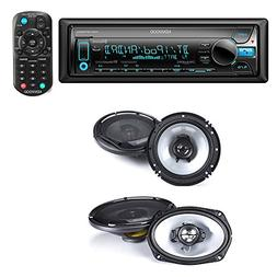 Kenwood KDC-BT565U Single DIN Bluetooth in-Dash CD/AM/FM Car