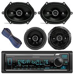 Kenwood Car Stereo Receiver With Bluetooth USB AUX AM FM Bun