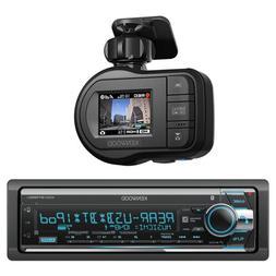 Kenwood in-Dash Detachable Face AM/FM/CD/MP3 Car Stereo Rece