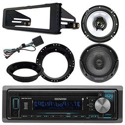 Kenwood KDCBT22 Bluetooth CD Stereo Audio Receiver - Bundle