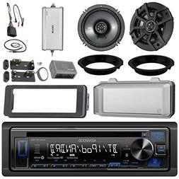 "Kenwood KDCBT22 CD Receiver Bundle / 2 Kicker 6.5"" Speaker +"